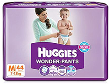 Huggies Wonder Pants Medium - 44 Pieces