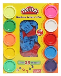 Funskool - Play Doh Numbers Letters n Fun