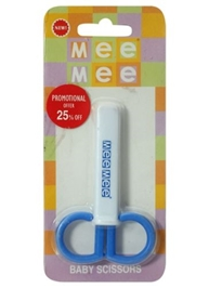 Mee Mee Safety Nail Scissor - Blue