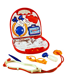 Toyhouse Pretend Play Doctors Set Red - 9 Pieces