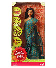 Barbie In India Doll Green - Height 29 Cm