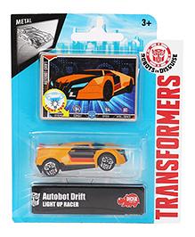 Transformers RID Autobot Light Up Racer Car - Orange