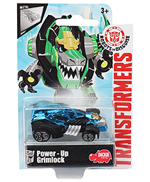 Transformers RID Power Up Grimlock Car - Blue Black