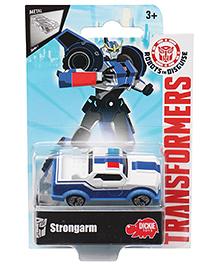 Transformers RID Strongarm Car - White Blue
