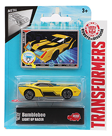 Transformers RID Bumblebee Light Up Racer Car - Yellow