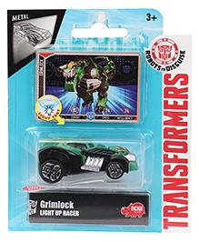 Transformers RID Grimlock Light Up Racer Car - Green