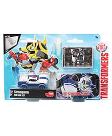 Transformers RID Strongarm Tin Box Set - Blue White