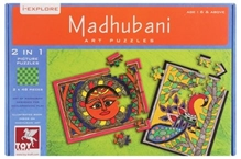 Toy Kraft - Colorful Madhubani Puzzle
