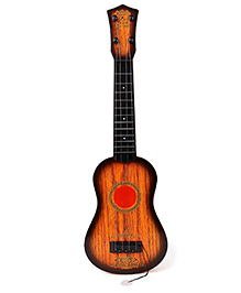 Smiles Creation Guitar - Brown Red