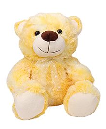 Funzoo Lolly Teddy Bear Soft Toy Yellow - Height 40 Cm