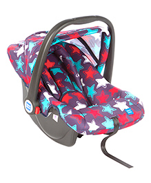 Mee Mee Baby Car Seat Cum Carry Cot Stars Print MM 806C - Navy Blue