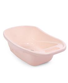 Baby Bath Tub Cartoon Print - Light Pink