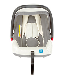 Mee Mee Baby Car Seat Cum Carry Cot With Thick Cushioned Seat MM-806C - Grey