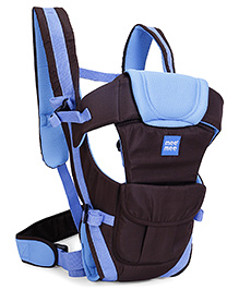 Mee Mee Lightweight Breathable 4 Way Baby Carrier MM-C 25A - Blue