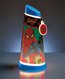 Disney Spider-Man Motion Activated Tilt Night Lamp Torch - Multi Color