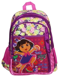 Dora Purple School Bag - 18 Inches