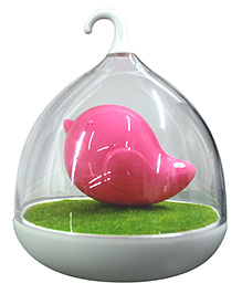 Abracadabra LED Bird Cage Night Lamp - Pink