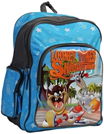 Looney Tunes Blue School Bag - 18 Inches