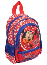 Minnie - Red Printed School Bag 10 Inches