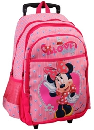 Minnie - Pink Trolley Bag 18 Inches