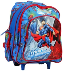 Superman - Blue Trolley School Bag 14 Inches
