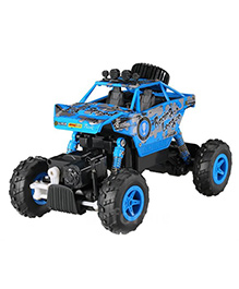 Flyers Bay Remote Control Rock Toy Crawler - Blue