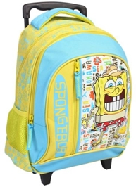 Sponge Bob - Trolley School Bag 14 Inches