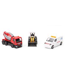 Majorette Construction Vehicles Multicolor - Set Of 3