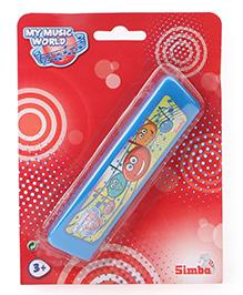 Simba My Music World Toy Harmonica Blue - 15 Cm