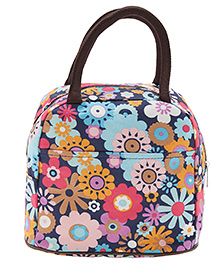 EZ Life Floral Print Lunch Box Bag - Green