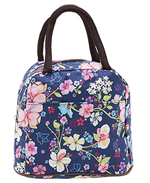 EZ Life Trendy Print Lunch Box Bag - Blue