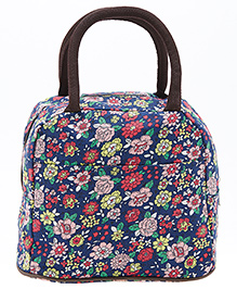 EZ Life Daisy Flower Lunch Box Bag - Blue