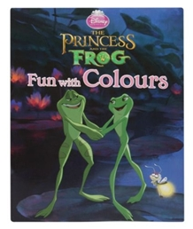 The Princess and the Frog -Fun with Colours