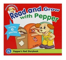 Read and Grow with Pepper (Red)