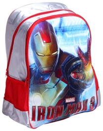 Simba - Iron Man 3 Print School Bag 18 Inches