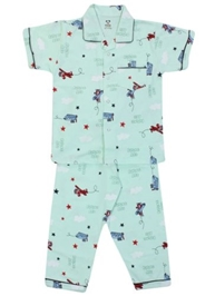 Pink Rabbit - Flying Ace Print Half Sleeves Night Suit