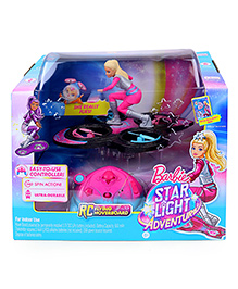 Barbie Star Light Adventure Doll With RC Flying Hoverboard - Pink