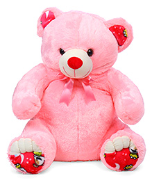 Liviya Sitting Teddy Bear Soft Toy Pink - Height 77 Cm
