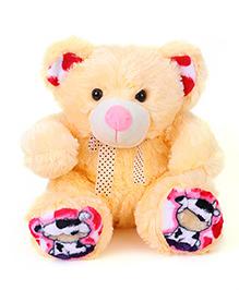 Liviya Teddy Bear Soft Toy Cream - Height 34 Cm