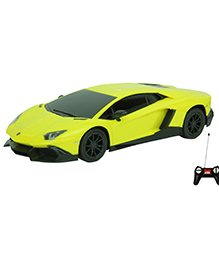 Toyhouse Lamborghini Aventador LP720-4 Rechargeable Remote Controlled Car - Yellow