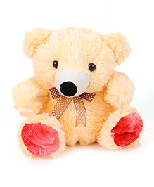Liviya Sitting Teddy Bear Soft Toy Cream - Height 28 Cm