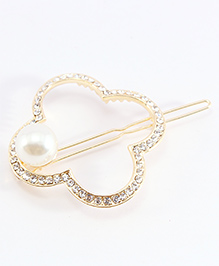 Pihoo Hair Broach Cum Pin - Golden