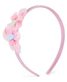 Stol'n Hair Band Floral Design -Light Pink