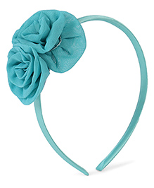 Stol'n Hair Band Rosette Applique - Blue