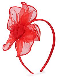 Stol'n Hair Band Flower Design - Red