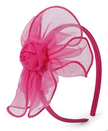 Stol'n Hair Band Flower Design - Pink