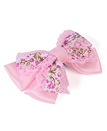 Stol'n Crochet Flower Print Hair Clip  (Colour May Vary)