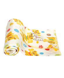 Mee Mee Multi Purpose Blanket - Yellow & Red