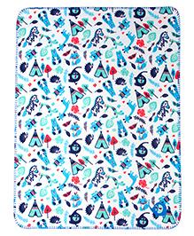 Mee Mee Multi Purpose Blanket - Dark Blue