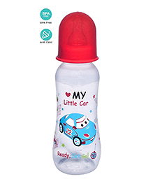 Mee Mee Premium Baby Feeding Bottle Red - 250 Ml